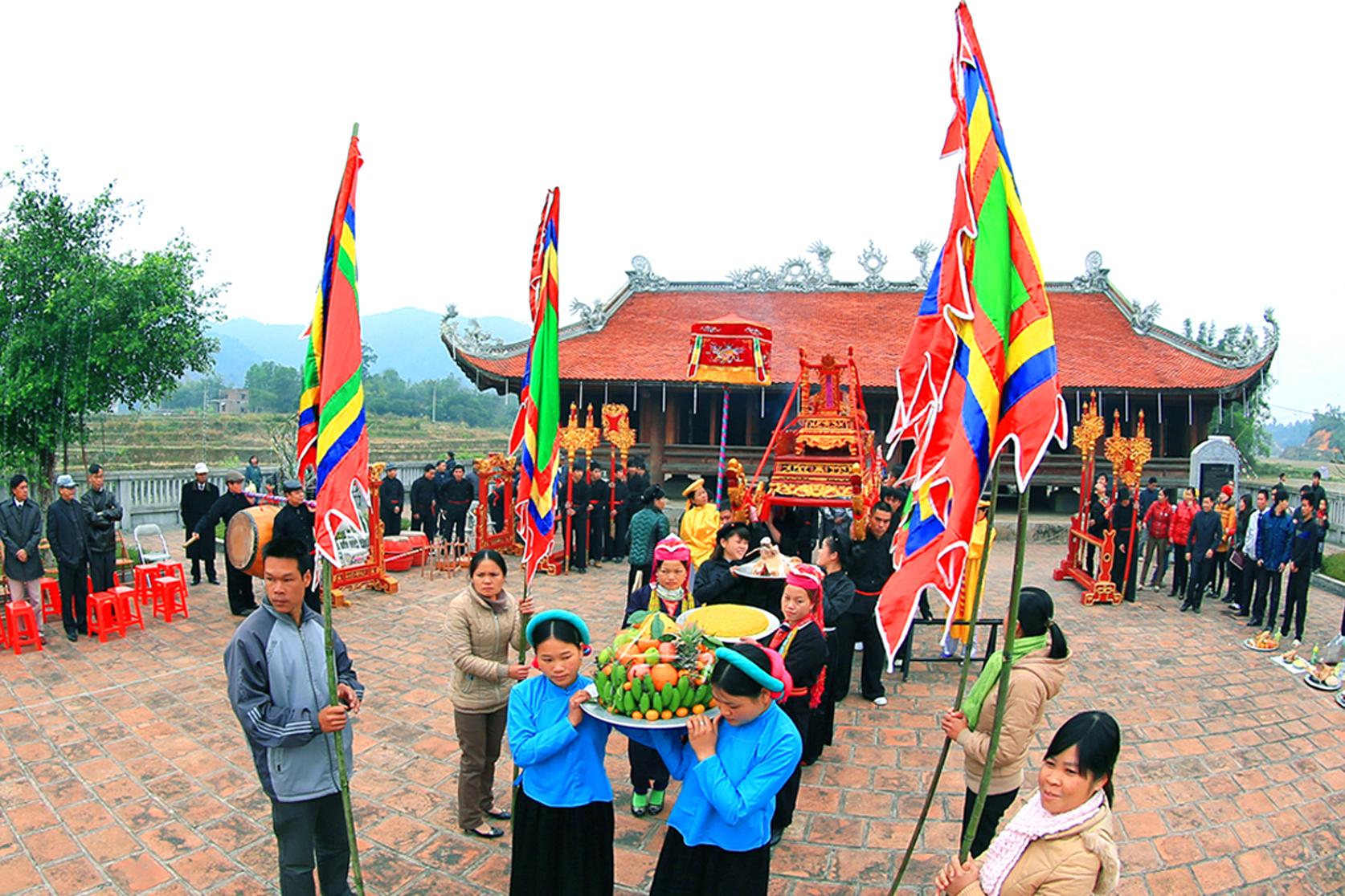 Lễ hội Đình Lục Nà đầu năm mới ở Bình liêu