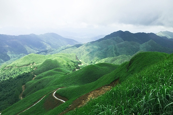 Núi cao ba lanh Bình liêu