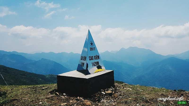 Núi cao xiêm Bình liêu