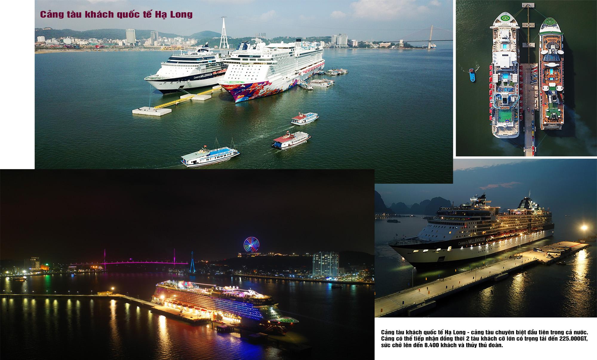 cảng tàu quốc tế hạ long