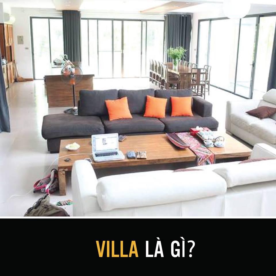 Phân biệt các loại hình kinh doanh dịch vụ lưu trú  villa