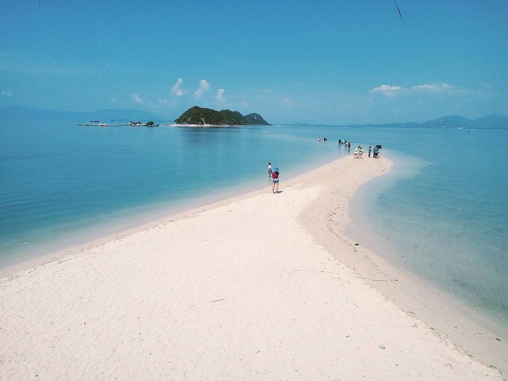 du lịch đảo Hòn Khô