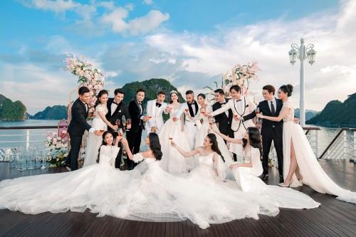 đám cưới trên du thuyền hạ long