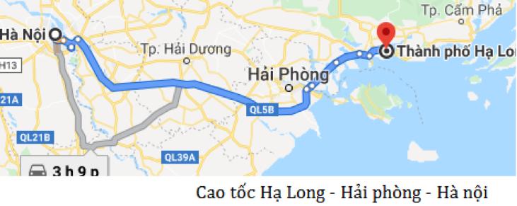 cao tốc Hà nội - Hải phòng - Hạ long