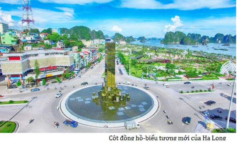 Cột đồng hồ thành phố Hạ long