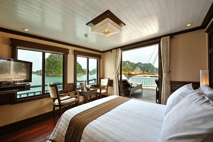 phòng trên du thuyền Paradise Luxury