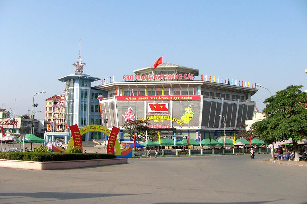 chợ Trung tâm Móng Cái