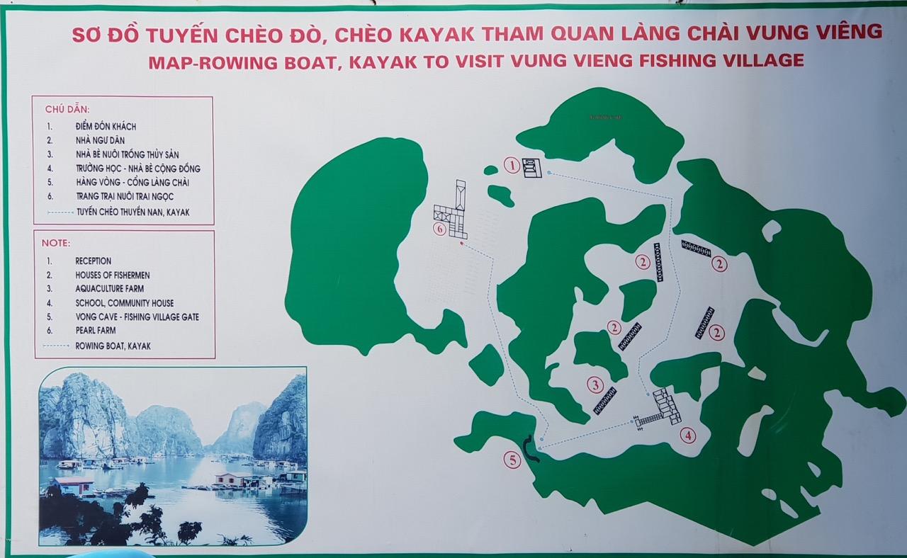 các điểm du lịch trong làng Vung Viêng