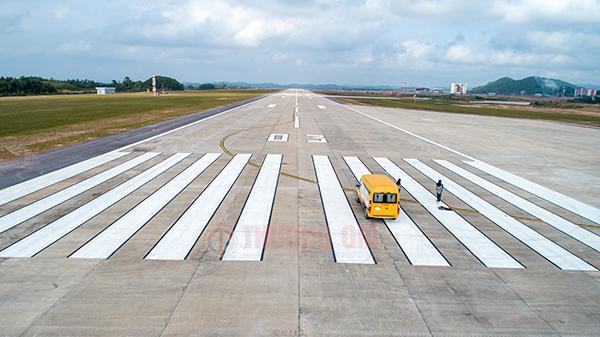 đường băng sân bay Vân đồn