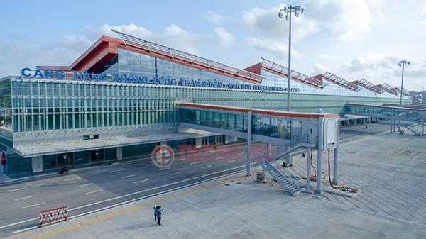 cận cảnh sân bay vân đồn