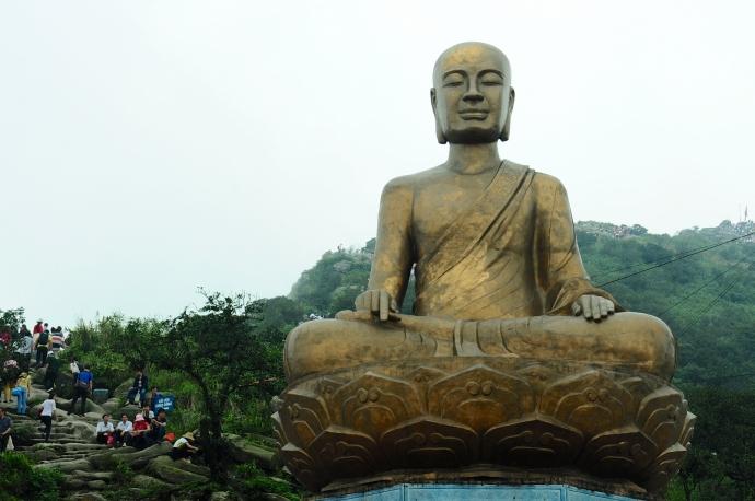 Bảo tượng Phật Hoàng Trần Nhân Tông