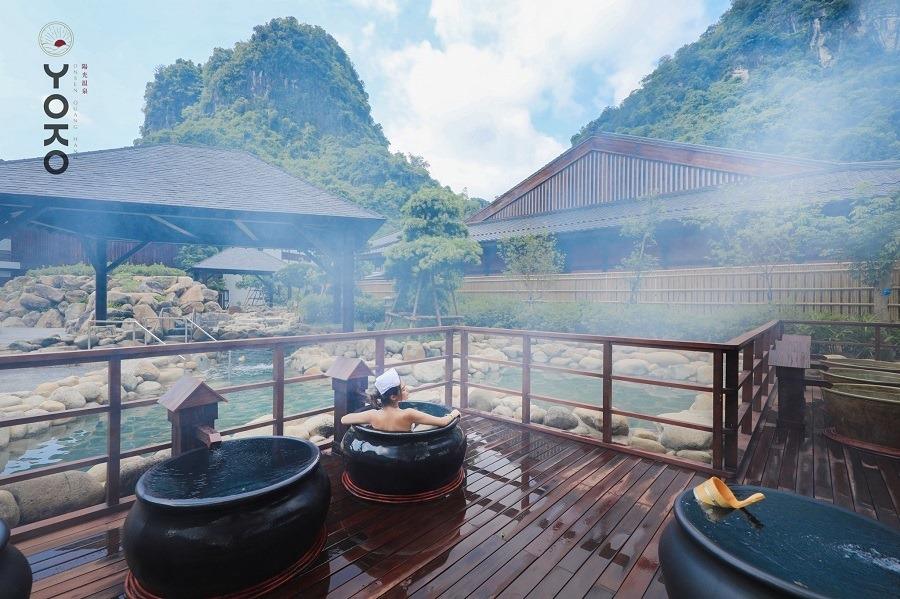 tắm OnSen Quang Hanh