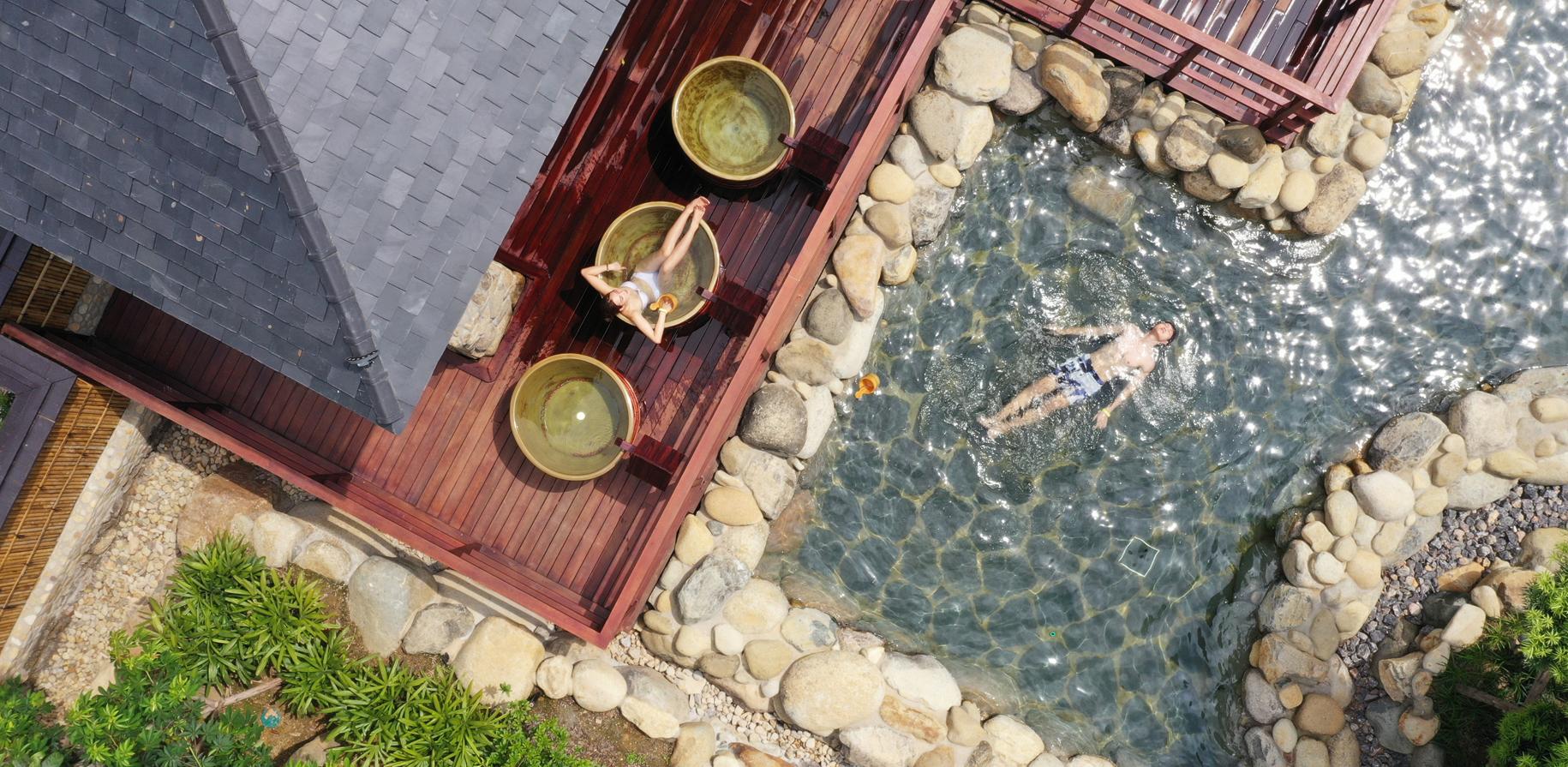 bể chum Yoko OnSen Quang Hanh