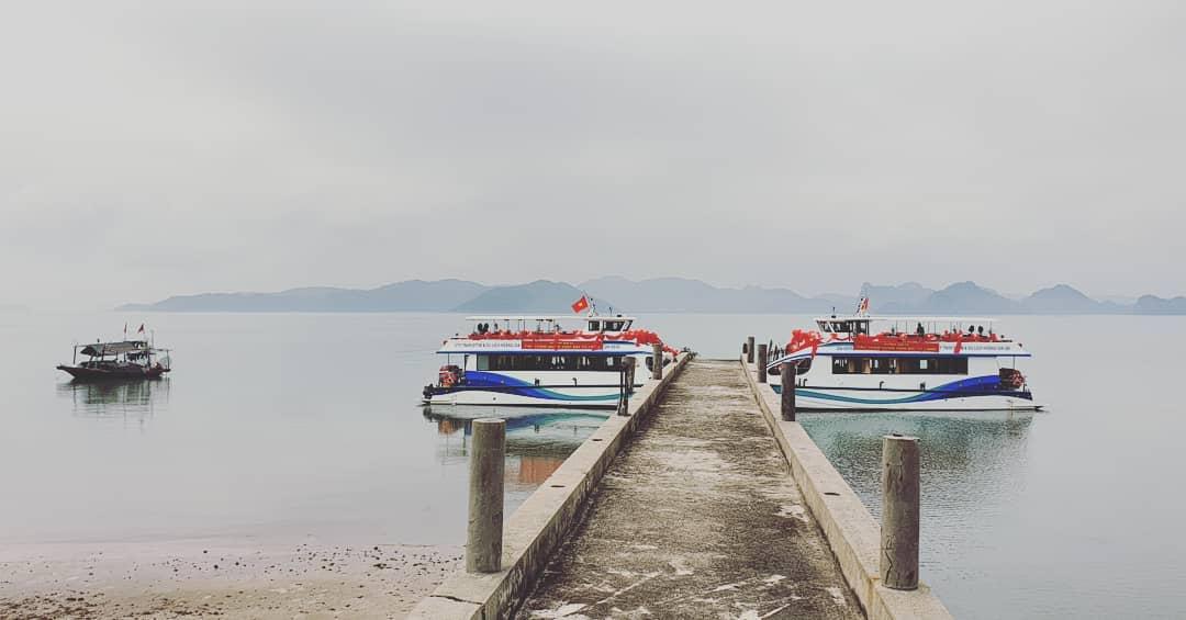 cảng tàu khách du lịch đảo hòn gội