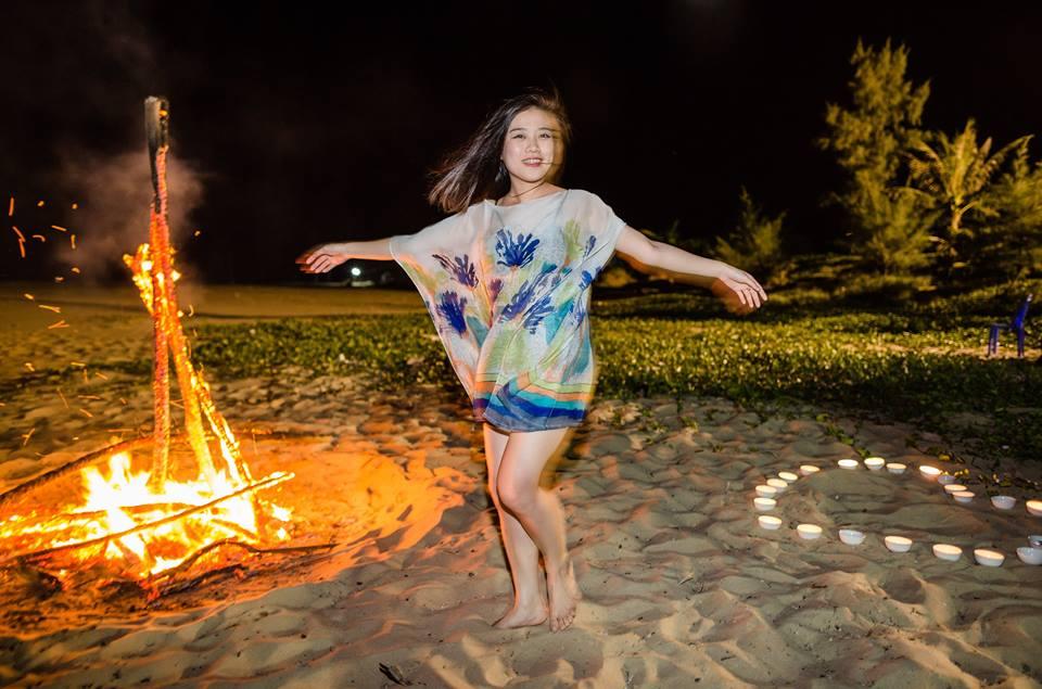 lửa trại đảo quan lạn
