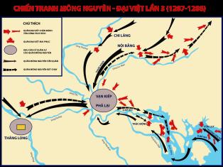 bản đồ trận chiến trên sông Mang