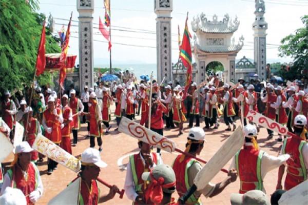 đền thờ 3 tướng quân họ Phạm