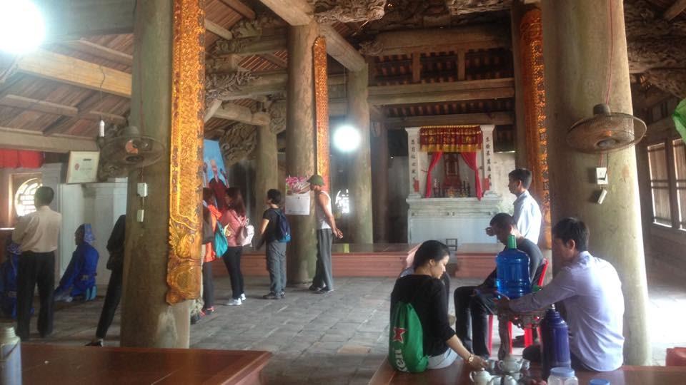 nghi lễ trong đình làng Quan lạn
