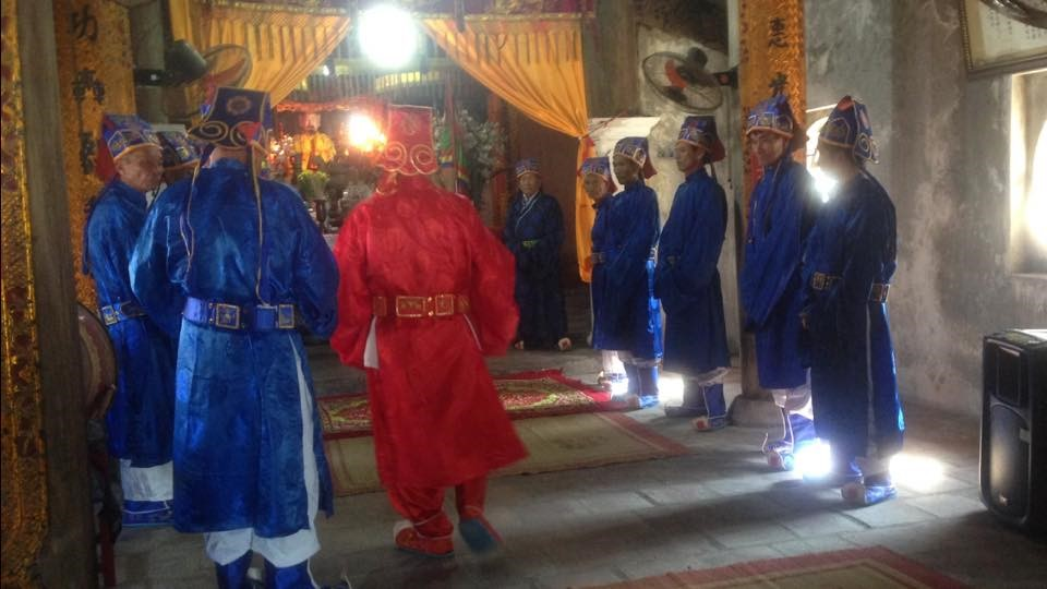 nghi lễ đình làng Quan lạn