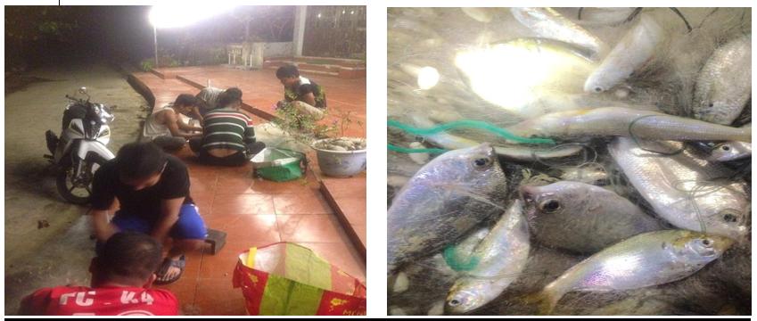 nấu ăn truyền thống ngư dân